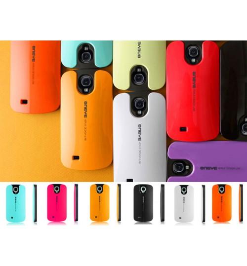 Galaxy S4 case Candy shell card holder case+Pen