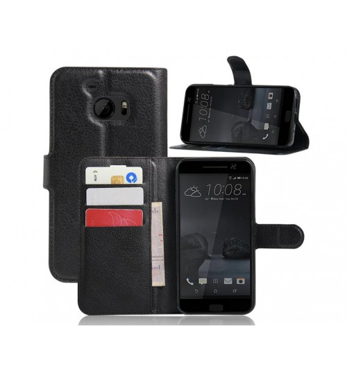 HTC 10 wallet leather case+COMBO