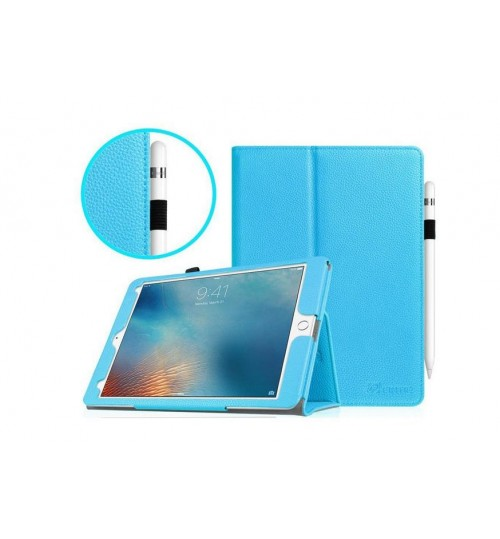 iPad PRO 9.7 inch Leather Folio Smart Case+Pen