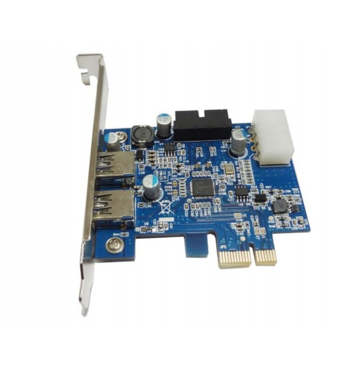 USB 3.0 PCI-E PCI express card with 20 pin header