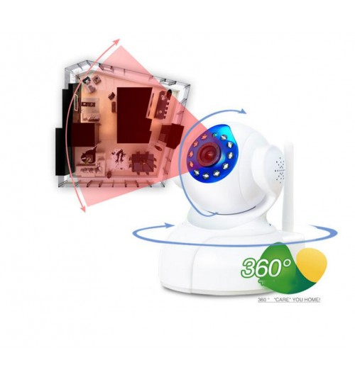 Baby Monitor & Night Vision IP Camera Wireless CCTV HD