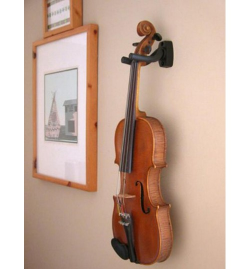 guitar wall mount hanger holder display for instrument anchor stand. Black Bedroom Furniture Sets. Home Design Ideas
