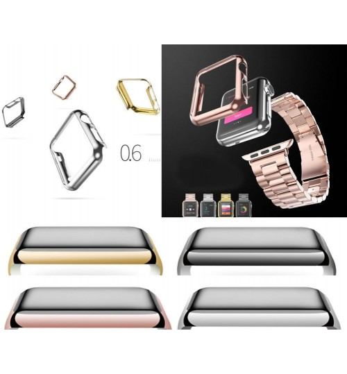 Apple watch iwatch 1st gen 42mm Protective Snap-On Case ultra slim cover