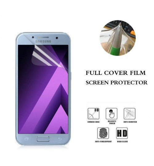 Samsung Galaxy A3 2017 front Ultra Clear Soft Screen Protector