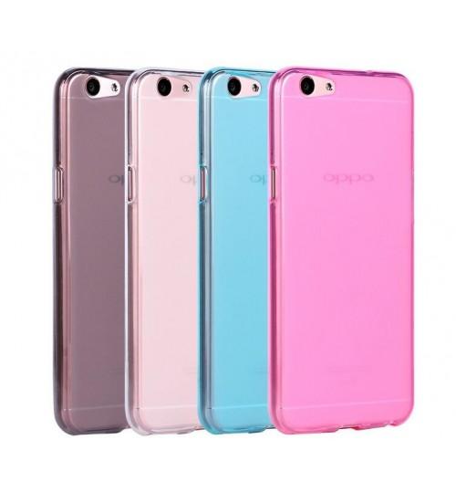 Oppo R9S case TPU Soft Gel Case+Pen