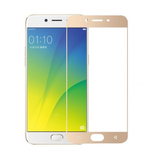 Oppo A39 fully covered Curved Tempered Glass sreen protector