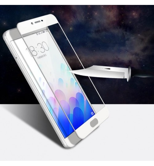 Meizu M5 Note fully covered Curved Tempered Glass sreen protector