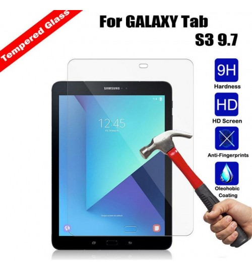 Galaxy Tab S3 9.7  Tempered Glass Screen Protector