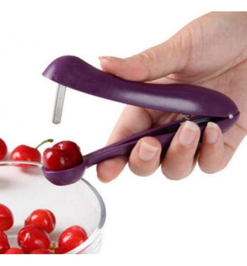 Cherry Stoner Easy Core Seed Remover Fruit Cherry Pitter Corer Kitchen Tool