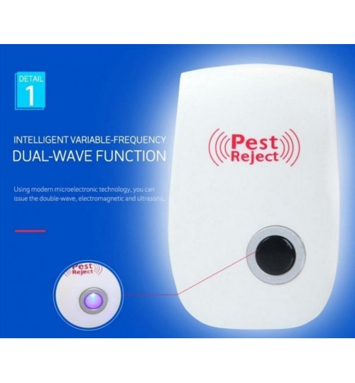 Ultrasonic Electronic Pest Mouse Repeller Rejecter