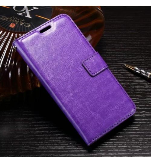 Huawei P10 LITE vintage fine leather wallet case