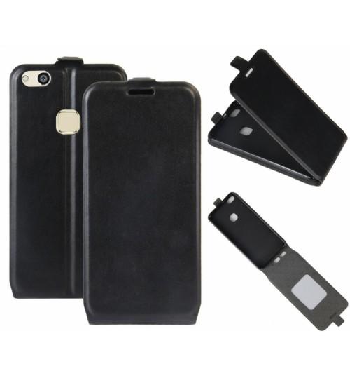 Huawei P10 lite vintage fine leather top flip case