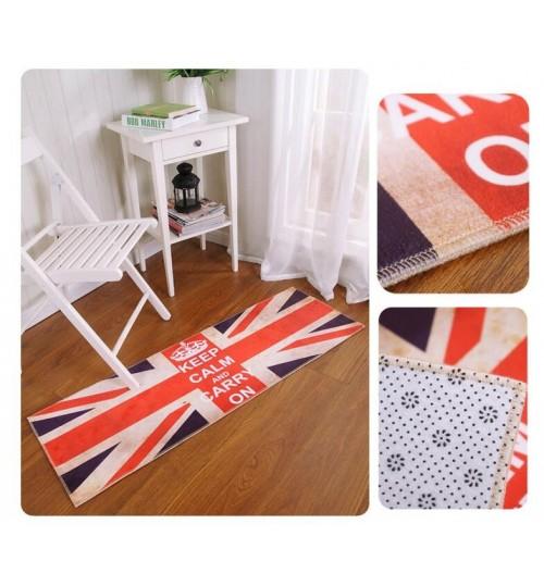 Anti-Slip Doormat Floor Door Mats Home Printing Area Rug Bedroom