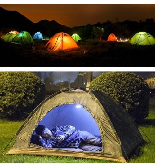 Portable Camping Outdoor Light 60 LED Tent Umbrella Night Lamp Hiking Lantern