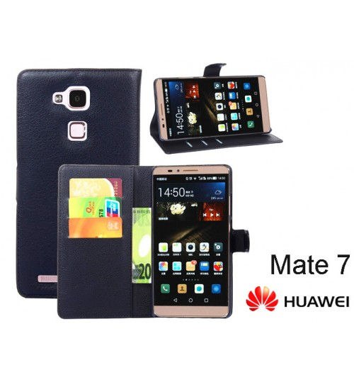 Huawei  Mate 7 wallet leather case+combo