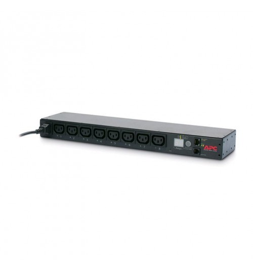 APC Rack PDU Switched 1U 10A (8)C13 Power Distribution Unit FORM FACTOR: 1 U, Rack