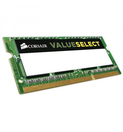 Corsair Value Select DDR3L 1600MHZ 8GB 204 SODIMM 1.35V Unbuffered