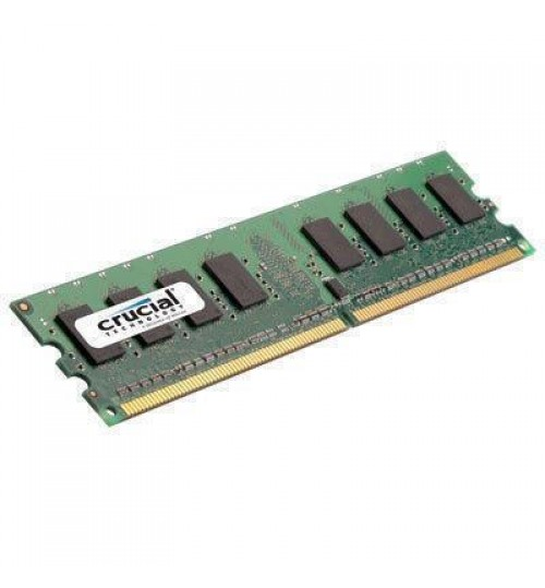 Crucial 1GB DESKTOP DDR2 800Mhz DIMM 240pin Non ECC PC2-6400 Desktop RAM