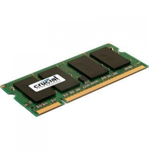 Crucial 2GB LAPTOP DDR2 800Mhz SODIMM 200pin Non ECC PC2-6400 Laptop / notebook RAM
