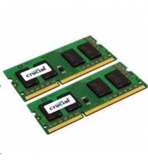 Crucial 4GB Kit for Mac (2GBx2) DDR3 1066 MT/s (PC3-8500) CL7 SODIMM   204pin for 2009/2010 iMac,Macbook , Macbook Pro