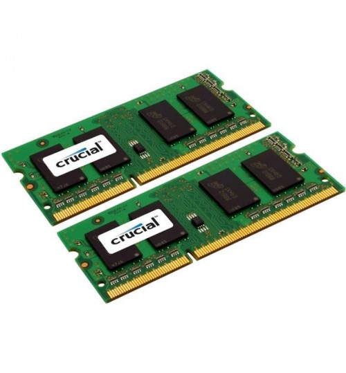 Crucial 8GB Kit (4GBx2) DDR3L 1866 MT/s (PC3-14900) CL13 SODIMM 204pin 1.35V for Mac for 2015 iMac,
