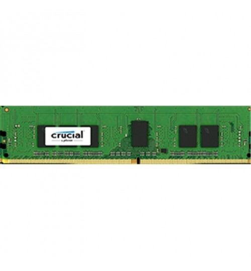 Crucial 4GB DDR4 2400 MT/s (PC4-19200) CL17 SR x8  ECC Registered DIMM 288pin