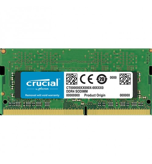 Crucial 4GB DDR4 SODIMM, 2400 MT/s (PC4-17000) CL17 SR x8 Unbuffered SODIMM 260pin DDR4  For Laptop and other SODIMM, Compatiable devices