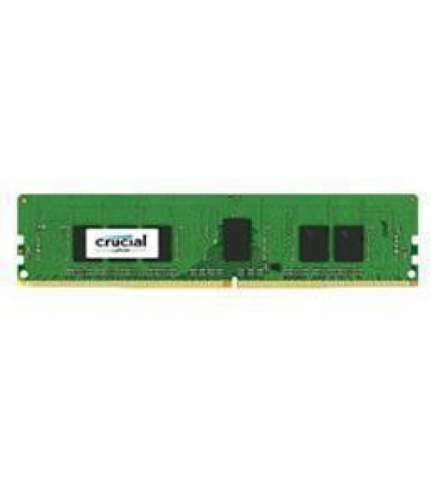 Crucial 4GB DDR4 2133 MT/s (PC4-17000) CL15 SR x8 ECC Unbuffered DIMM 288pin