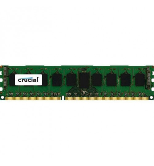 Crucial 4GB DESKTOP DDR3L 1600Mhz DIMM 240pin Non ECC PC3L-12800 512M X 8 Desktop RAM  Single Ranked 1.35v/1.5v