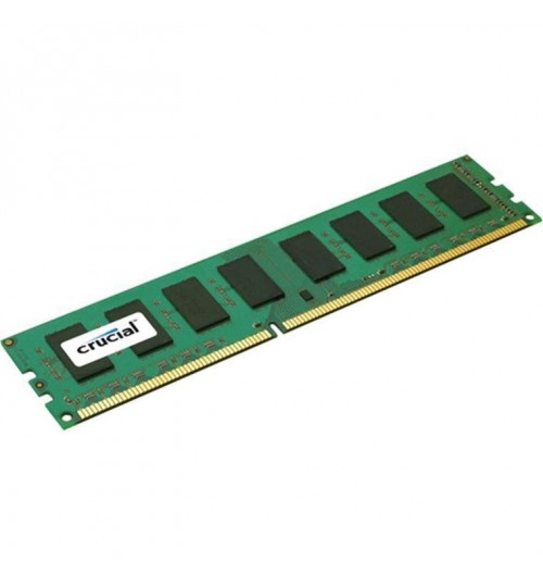 Crucial 4GB DDR3 1600 MT/s (PC3-12800) CL11 Unbuffered ECC UDIMM 240pin 1.35V/1.5V (4Gb 9 chip)