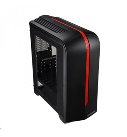 Enermax ECB2030 MATX Gaming MidTower Case - Black/Red