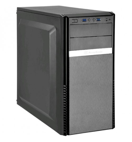 SilverStone PS11B-Q ATX Mid Tower Case Black - Quiet