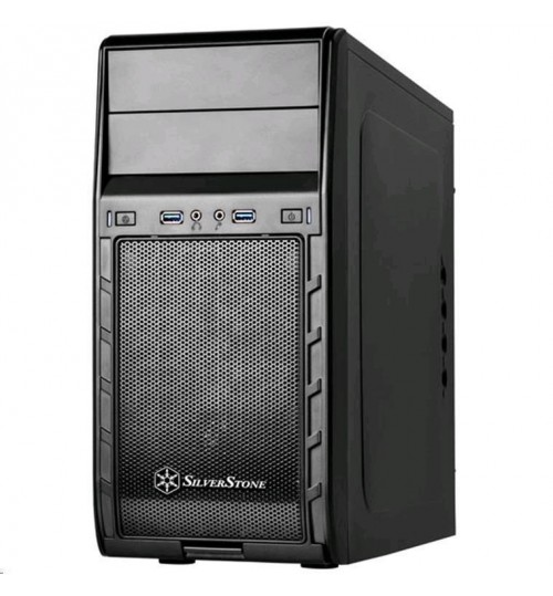 SilverStone PS12B-USB3.0 MATX Mini Tower Case Black
