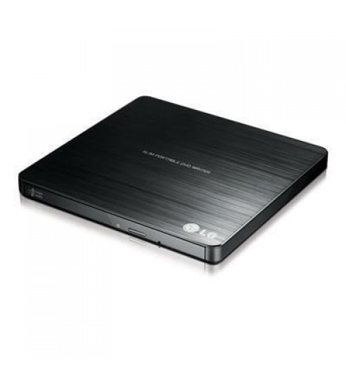 LG GP60NB50 Super-Multi Portable USB power DVD Rewriter With M-Disk Support , Black Colour , MAC & Windows OS compatible