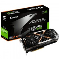 Gigabyte GV-N1070AORUS-8GD Geforce GTX1070 AORUS Version 8G Gaming Graphics Card