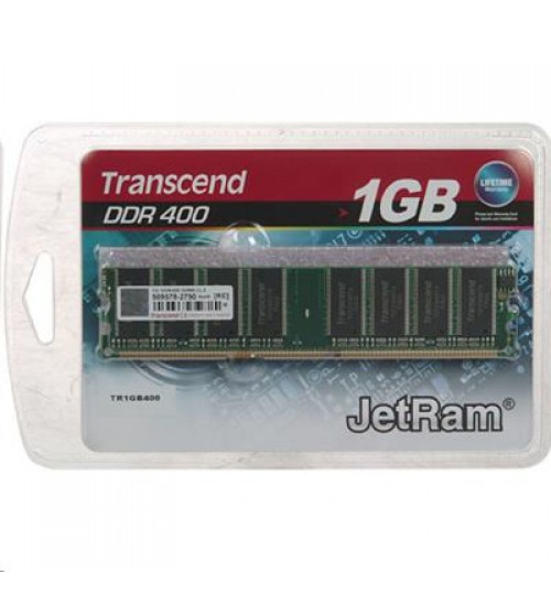 Transcend 1GB DDR400 184PIN DIMM 128MX64 CL3