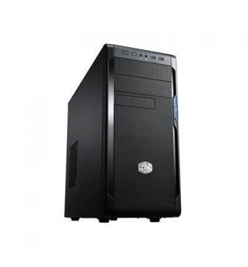 Cooler Master N300 Mid-Tower ATX Case - optimum cooling (NO PSU) dual USB 3.0, Supports a 240mm liquid cooling radiator, support for up to 8 fans , Latest Design