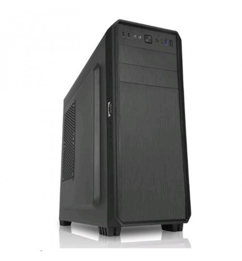 FSP P1802 Mid Tower Case - 2xUsb3.0 - Dust Filters - 12cm Rear Fan - (No PSU) - Black