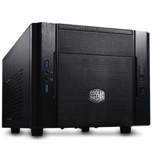 Cooler Master Elite 130 Ultra Compact Mini-ITX USB3.0 , Ample storage   up to 1 ODD / 3 HDDs / 5 SSDs, Support ATX PSU, Support High-end VGA(HD7990/GTX690) (NO PSU)