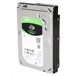 Seagate BarraCuda, 2TB 3.5 inch 7200RPM SATA3 6Gb/s 64MB Internal HDD  ( 2 years warranty )