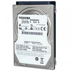 "Toshiba 500G 2.5"" SATA Internal hard drive 5400rpm , Pull out from New Laptop , 1 year warranty"