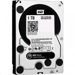 WD 1TB Black Edition 64MB Performance SATA3 7200RPM  Internal HDD Maximum performance for power computing   5   Years        Warranty