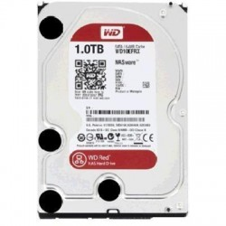 "WD 1TB Red 3.5"" SATA3 5400RPM 64M Hard Drive Designed and tested for RAID environments 1-8 Bay NAS, 3 Years warranty"