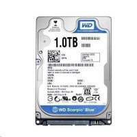 "WD 1TB 2.5"" Scorpio Blue 8M SATA HDD , 9.5mm , 5400rpm"