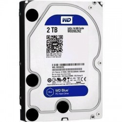 "WD 2TB Blue Edition 3.5"" SATA3 Internal HDD 5400RPM 64M CACHE, for everyday computing,   2 Year Warranty"
