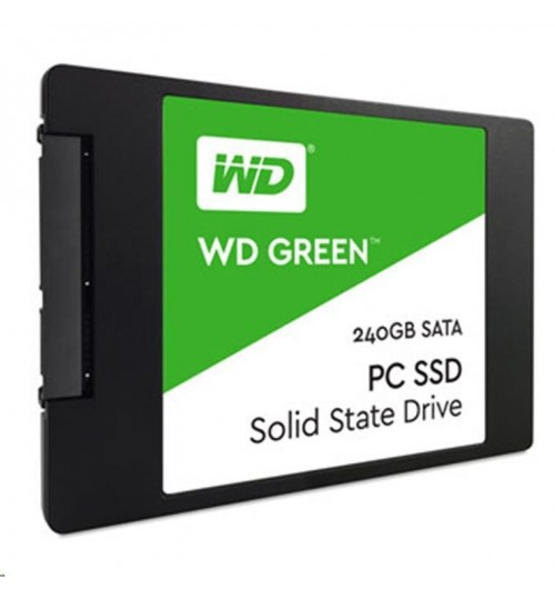 WD Green 240GB 2.5 inch Internal SSD, Up to 540MB/s Read, Enhanced storage for your everyday computing needs ., 3 Year Warranty