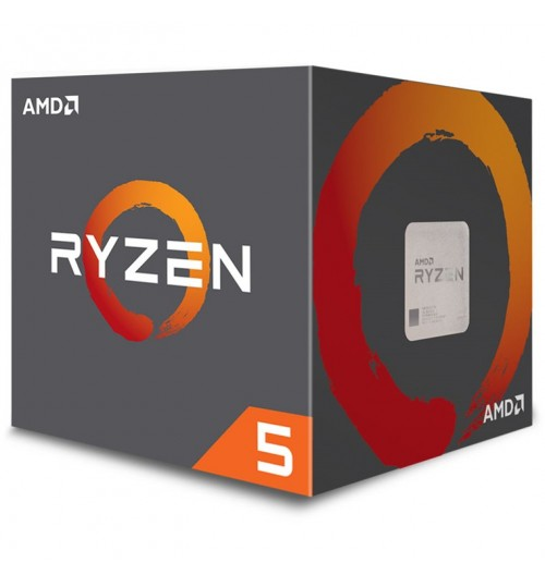 AMD Ryzen 5 1500X 4 Core,8 Threads 3.5 GHz clock rate with 3.7 GHz Precision Boost, Socket AM4,18MB total Cache ,65W TDP , Extended Frequency Range (XFR) in the presence of better cooling,  with Wraith Spire 95W Cooler(No LED)