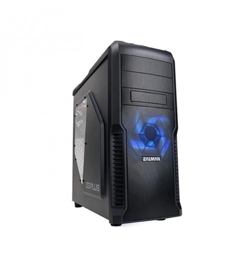 Zalman Z3 Plus ATX Mid Tower Case (NO PSU) - Supports Front USB 3.0,Dust      Filters   for Front and    Bottom