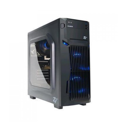 Zalman Z1 NEO Luxurious Mid Tower Case (NO PSU) - 3 System Fans include , Supports USB 3.0     Ports ,Dust Filters for Front and Bottom, support 375mm VGA Card