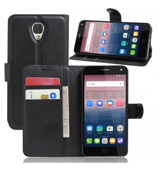 Alcatel POP 4 case wallet leather case